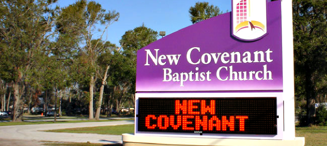 Churches Massing to Buy Electronic Message Signs from TV Liquidator