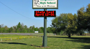 School LED Message Signs