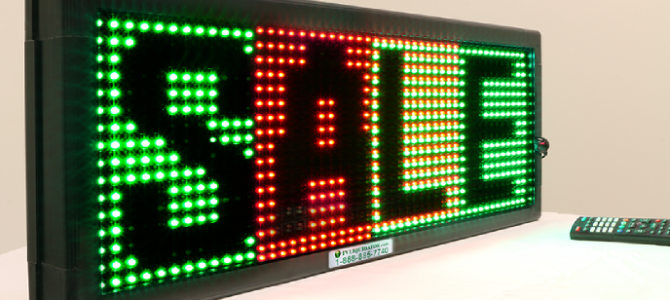 TV Liquidator is a Leader in Customizable LED Signs