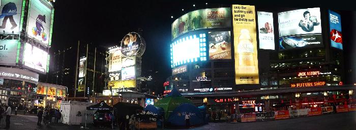 Canada LED Sign