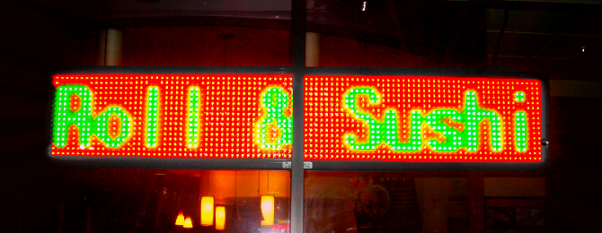 Restaurants are Hungry for LED Signs