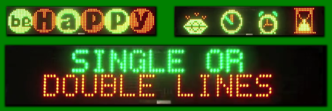 LED Signs Features