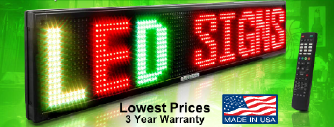 LED Signs For Your VFW