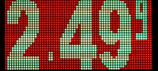 Gas Price LED Sign Featured in Demonstration Video