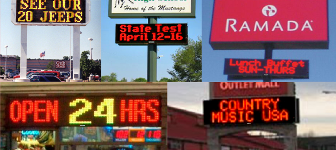 5 Reasons to Buy an LED Sign