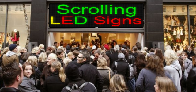 The Best Ways to Boost Sales with Your LED Sign