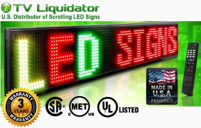 LED Sign Certifications