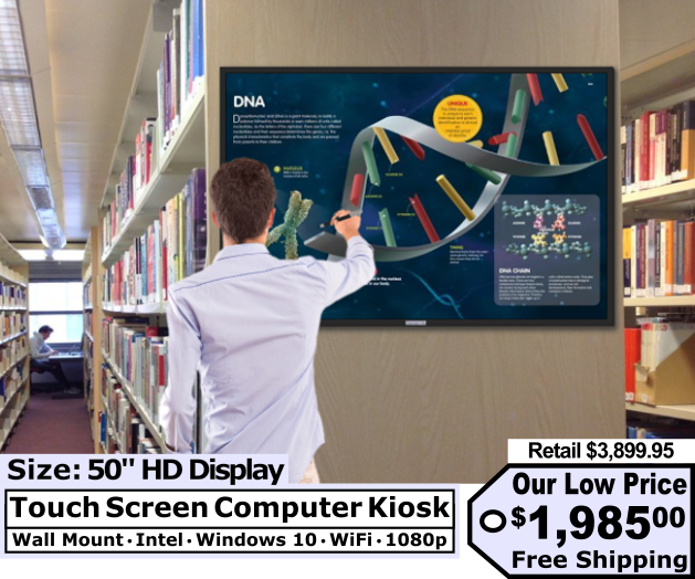Low Price Interactive Touch Screen Kiosk